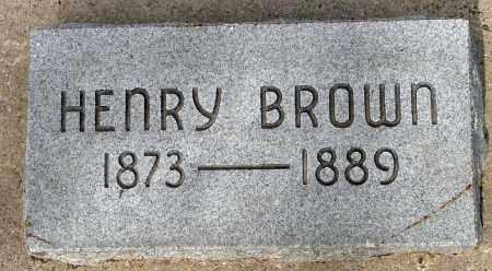 BROWN, HENRY - Utah County, Utah | HENRY BROWN - Utah Gravestone Photos