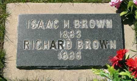 BROWN, ISAAC HOUSTON - Utah County, Utah | ISAAC HOUSTON BROWN - Utah Gravestone Photos