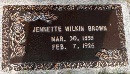 BROWN, JENNETTE YOUNG - Utah County, Utah | JENNETTE YOUNG BROWN - Utah Gravestone Photos
