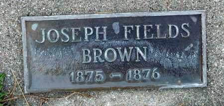 BROWN, JOSEPH FIELDS - Utah County, Utah | JOSEPH FIELDS BROWN - Utah Gravestone Photos