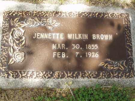 BROWN, JENETTE - Utah County, Utah   JENETTE BROWN - Utah Gravestone Photos