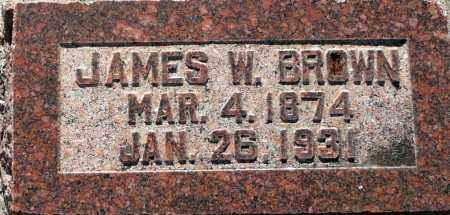 BROWN, JAMES W. - Utah County, Utah | JAMES W. BROWN - Utah Gravestone Photos