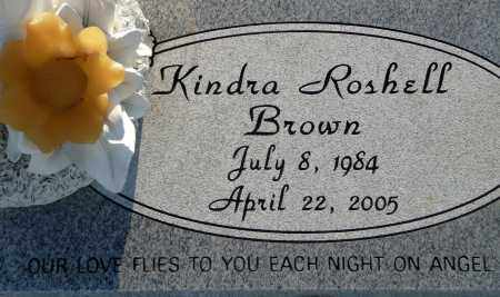 BROWN, KINDRA ROSHELL - Utah County, Utah | KINDRA ROSHELL BROWN - Utah Gravestone Photos