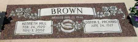 BROWN, DONNA E. - Utah County, Utah | DONNA E. BROWN - Utah Gravestone Photos