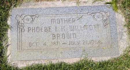 HEALEY BROWN, PHOEBE LEVIOUS - Utah County, Utah | PHOEBE LEVIOUS HEALEY BROWN - Utah Gravestone Photos