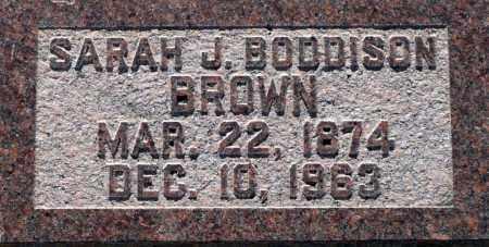 BROWN, SARAH J. - Utah County, Utah | SARAH J. BROWN - Utah Gravestone Photos