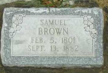 BROWN, SAMUEL WEBSTER - Utah County, Utah | SAMUEL WEBSTER BROWN - Utah Gravestone Photos