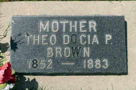 BROWN, THEODOCIA - Utah County, Utah | THEODOCIA BROWN - Utah Gravestone Photos