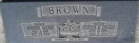 BROWN, MARTHA E. - Utah County, Utah | MARTHA E. BROWN - Utah Gravestone Photos