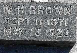 BROWN, WILLIAM HENRY - Utah County, Utah | WILLIAM HENRY BROWN - Utah Gravestone Photos