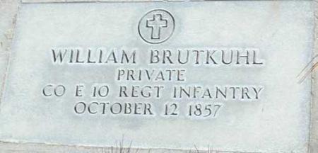 BRUTKUHL (SERV), WILLIAM - Utah County, Utah | WILLIAM BRUTKUHL (SERV) - Utah Gravestone Photos