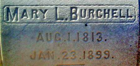 BURCHELL, MARY - Utah County, Utah | MARY BURCHELL - Utah Gravestone Photos