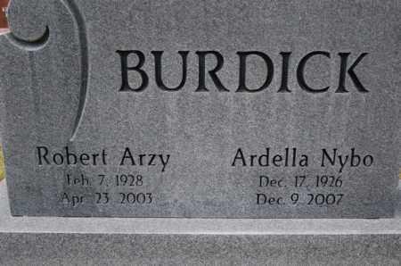 BURDICK (WWII), ROBERT ARZY - Utah County, Utah | ROBERT ARZY BURDICK (WWII) - Utah Gravestone Photos
