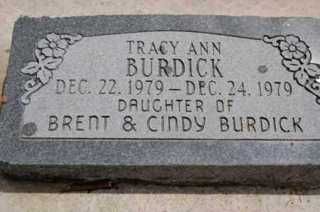 BURDICK, TRACY ANN - Utah County, Utah | TRACY ANN BURDICK - Utah Gravestone Photos
