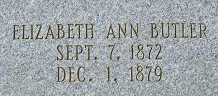 BUTLER, ELIZABETH ANN - Utah County, Utah | ELIZABETH ANN BUTLER - Utah Gravestone Photos