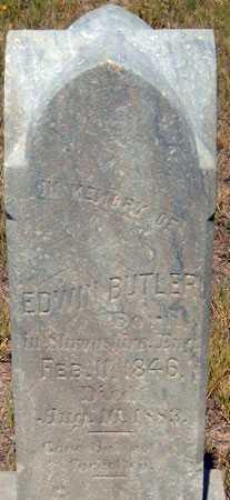 BUTLER, EDWIN - Utah County, Utah   EDWIN BUTLER - Utah Gravestone Photos