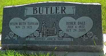 TOPHAM, HELEN RUTH - Utah County, Utah | HELEN RUTH TOPHAM - Utah Gravestone Photos