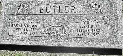 TAYLOR BUTLER, MARTHA ANN - Utah County, Utah | MARTHA ANN TAYLOR BUTLER - Utah Gravestone Photos