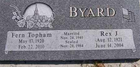 TOPHAM, FERN - Utah County, Utah | FERN TOPHAM - Utah Gravestone Photos