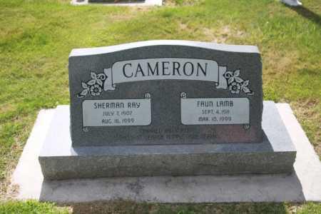 CAMERON, SHERMAN RAY - Utah County, Utah | SHERMAN RAY CAMERON - Utah Gravestone Photos