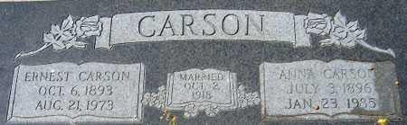 BOYLE CARSON, ANNA - Utah County, Utah | ANNA BOYLE CARSON - Utah Gravestone Photos