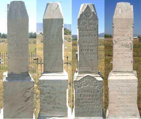 CARSON, FAMILY - Utah County, Utah | FAMILY CARSON - Utah Gravestone Photos