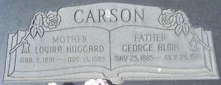 JOHNSON CARSON, MARY LOVIRA - Utah County, Utah | MARY LOVIRA JOHNSON CARSON - Utah Gravestone Photos