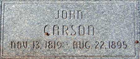 CARSON, JOHN - Utah County, Utah   JOHN CARSON - Utah Gravestone Photos