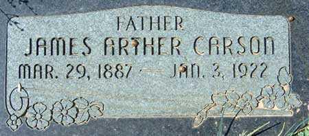 CARSON, JAMES ARTHUR - Utah County, Utah | JAMES ARTHUR CARSON - Utah Gravestone Photos