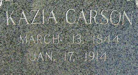 BUTLER CARSON, KAZIA - Utah County, Utah   KAZIA BUTLER CARSON - Utah Gravestone Photos