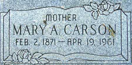 CARSON CARSON, MARY ANN - Utah County, Utah | MARY ANN CARSON CARSON - Utah Gravestone Photos