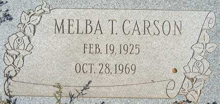 CARSON, MELBA MARIE - Utah County, Utah | MELBA MARIE CARSON - Utah Gravestone Photos