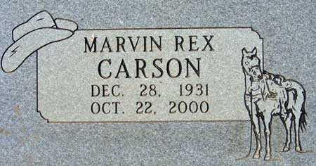 CARSON, MARVIN REX - Utah County, Utah | MARVIN REX CARSON - Utah Gravestone Photos