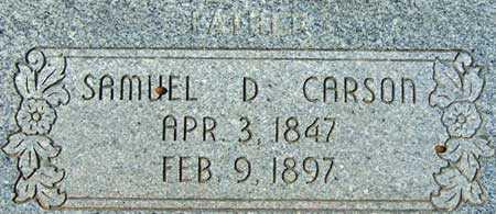CARSON, SAMUEL DAVID - Utah County, Utah | SAMUEL DAVID CARSON - Utah Gravestone Photos
