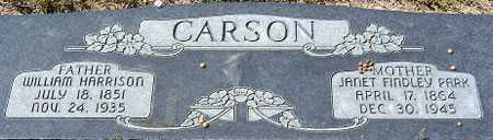 CARSON, WILLIAM HARRISON - Utah County, Utah | WILLIAM HARRISON CARSON - Utah Gravestone Photos