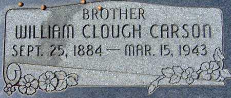 CARSON, WILLIAM CLOUGH - Utah County, Utah | WILLIAM CLOUGH CARSON - Utah Gravestone Photos