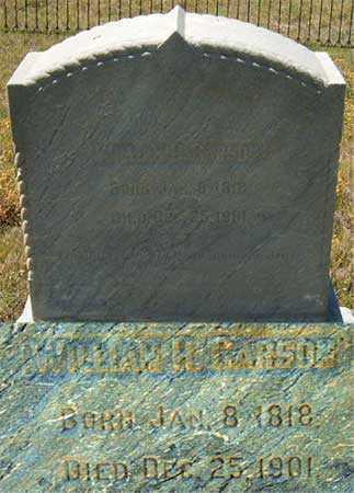 CARSON, WILLIAM HUFF - Utah County, Utah   WILLIAM HUFF CARSON - Utah Gravestone Photos