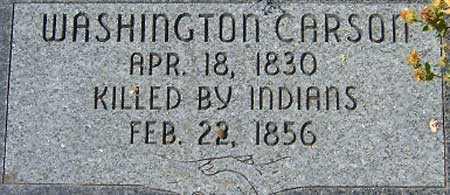 CARSON, WASHINGTON - Utah County, Utah | WASHINGTON CARSON - Utah Gravestone Photos
