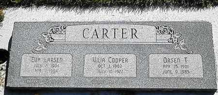 CARTER, EVA - Utah County, Utah | EVA CARTER - Utah Gravestone Photos