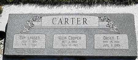 CARTER, ORSEN TERRY - Utah County, Utah | ORSEN TERRY CARTER - Utah Gravestone Photos