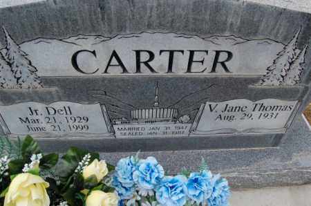 CARTER, JUNIOR DELL - Utah County, Utah | JUNIOR DELL CARTER - Utah Gravestone Photos
