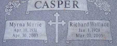 CASPER, MYRNA MARIE - Utah County, Utah | MYRNA MARIE CASPER - Utah Gravestone Photos