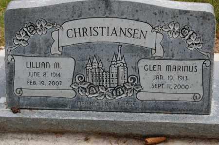 CHRISTIANSEN, LILLIAN MERRILL - Utah County, Utah | LILLIAN MERRILL CHRISTIANSEN - Utah Gravestone Photos