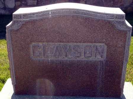 CLAYSON, FAMILY - Utah County, Utah   FAMILY CLAYSON - Utah Gravestone Photos