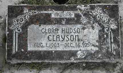 CLAYSON, GLORA - Utah County, Utah | GLORA CLAYSON - Utah Gravestone Photos