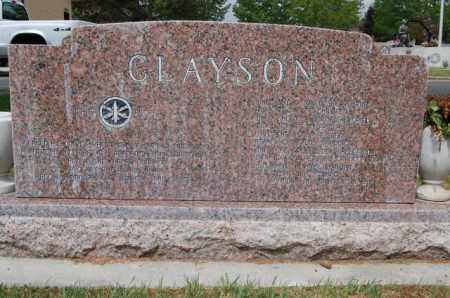 CLAYSON, LESTER VERN - Utah County, Utah | LESTER VERN CLAYSON - Utah Gravestone Photos