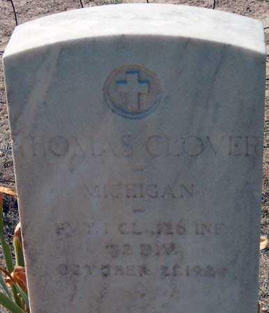 CLOVER (WWI), THOMAS - Utah County, Utah | THOMAS CLOVER (WWI) - Utah Gravestone Photos