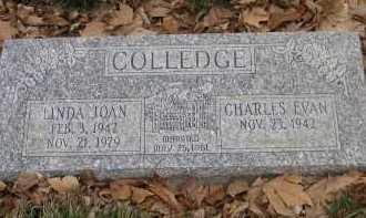 COLLEDGE, LINDA JOAN - Utah County, Utah | LINDA JOAN COLLEDGE - Utah Gravestone Photos