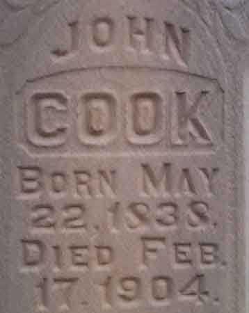 COOK, JOHN - Utah County, Utah | JOHN COOK - Utah Gravestone Photos
