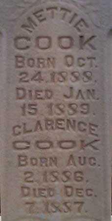 COOK, METTIE - Utah County, Utah   METTIE COOK - Utah Gravestone Photos